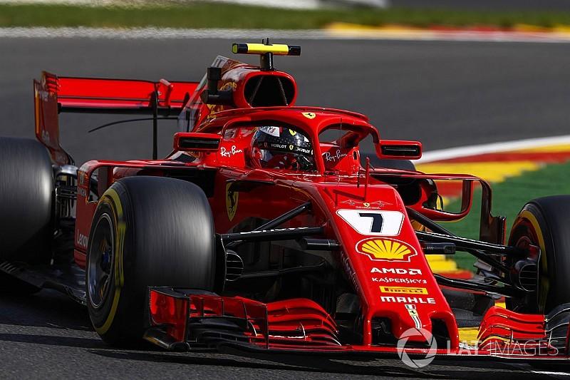 Raikkonen deelt lakens uit op Spa, Verstappen P4 op vrijdagmiddag