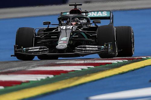 Hamilton lidera la 1° práctica con Pérez en el quinto lugar