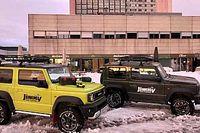 Suzuki Jimny, un todoterreno imparable ante la gran nevada de Madrid
