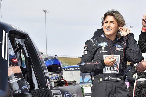 NASCAR to require Hailie Deegan to take sensitivity training