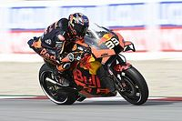 "KTM's Binder: Final Barcelona laps like ""riding in the rain"""