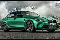 Nuova BMW M3, berlina sportiva con più potenza e più trazione