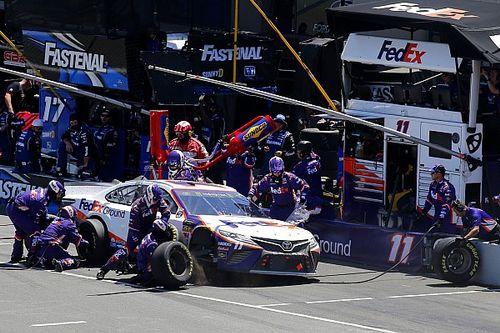 NASCAR modifica las reglas para la carretera de pits