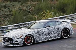 Mercedes-AMG GT R Clubsport caught undergoing hard testing