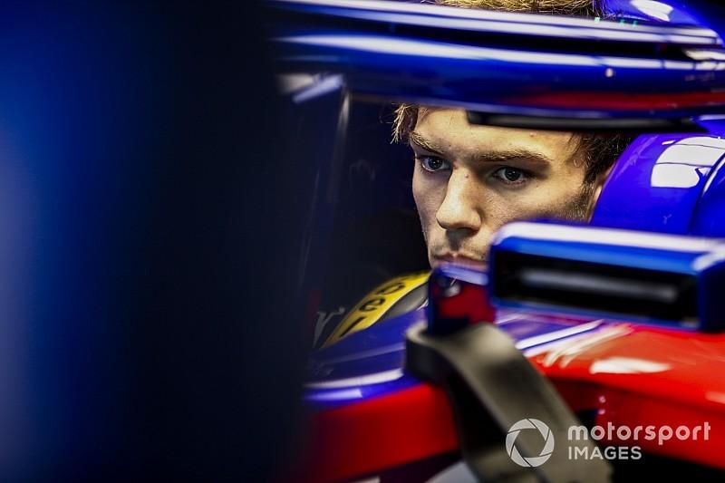 Gasly n'aura pas l'évolution Toro Rosso à Mexico