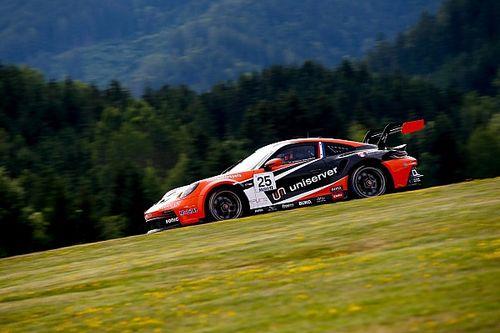 Ten Voorde weer op het podium in Porsche Supercup, Evans wint