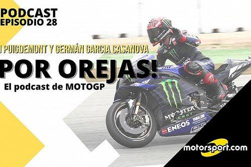 Podcast MotoGP 'Por Orejas' - de la cremallera de Quartararo, a la agonía de Rossi