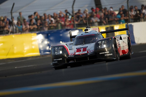 H+17 - Porsche en tête au crépuscule, deux LMP2 sur le podium