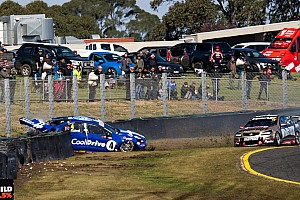 Supercars Breaking news Webb slapped with $15,000 fine for Hazelwood crash