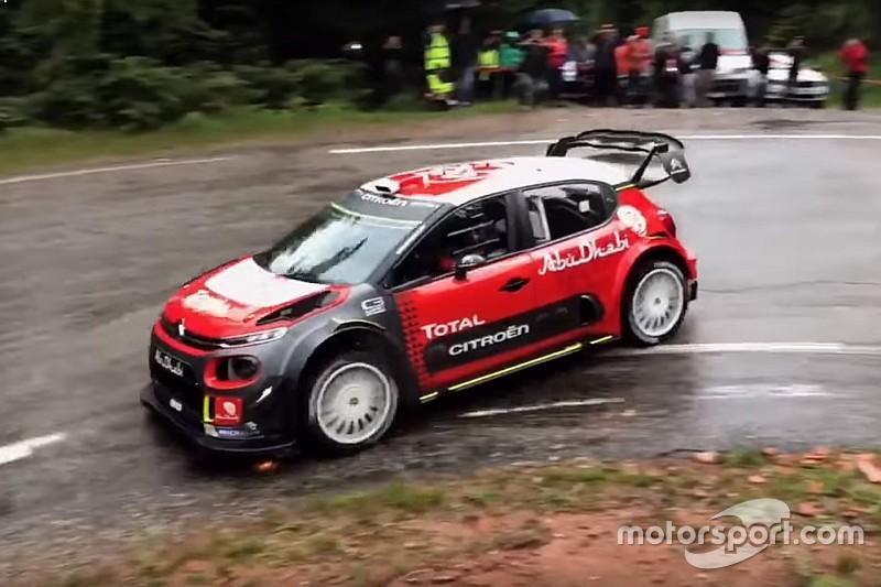 Vidéo - Sébastien Loeb teste la C3 WRC