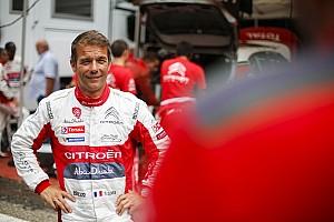 WRC Noticias de última hora Loeb probará el Citroen en tierra este miércoles