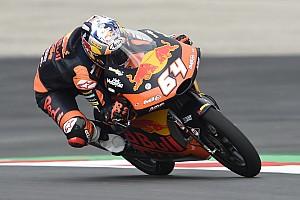 Moto3 Verslag vrije training P3 Bendsneyder in warm-up Oostenrijk, achter WK-rivalen Mir en Fenati
