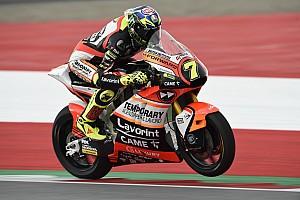 Moto2 Actualités Forward Racing : peu de mètres et beaucoup de malchance en Autriche