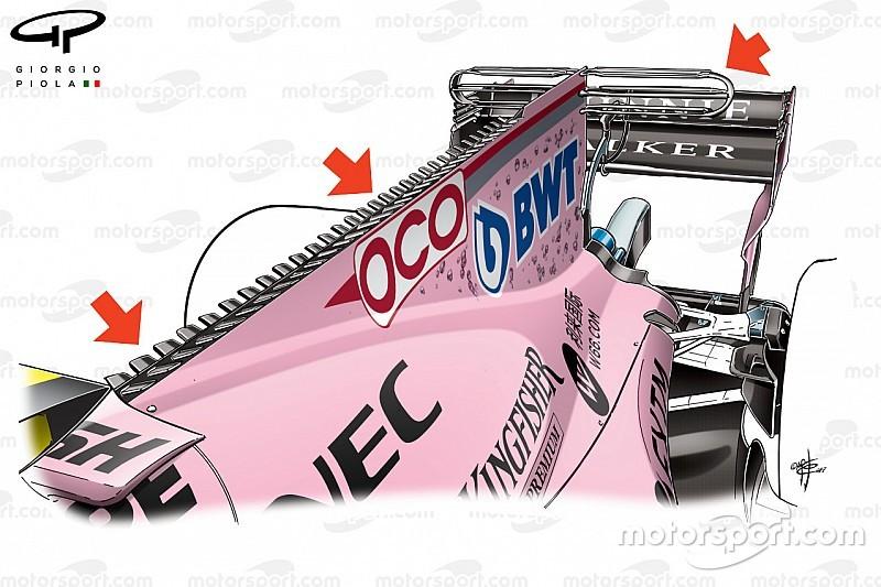 """Video: So funktioniert der """"Sägerochen"""" am F1-Auto von Force India"""