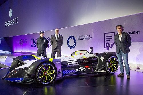 Roborace perkenalkan mobil balap tanpa awak pertama di dunia, Robocar