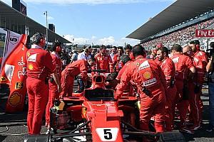 F1 Noticias de última hora Ferrari se quedó sin tiempo para cambiar la bujía
