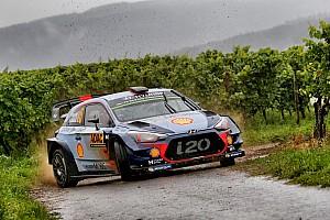 WRC Actualités Journée déjà terminée pour Neuville!