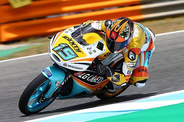Moto3 Relato de classificação Argentino Gabriel Rodrigo surpreende e é pole em Brno