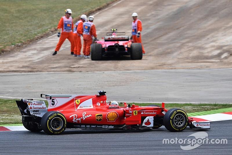 """Räikkönen: """"Biztos, hogy elég helyet hagytam Bottasnak"""""""
