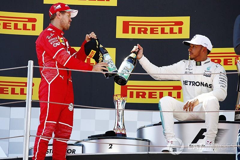 """Hamilton: """"Carreras así son por las que compito en Fórmula 1"""""""