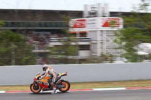 MotoGP Ultime notizie A Barcellona piove: posticipati a domani i test Michelin di MotoGP