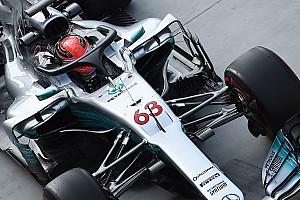 F1 Top List GALERÍA: el Halo probado en el Mercedes W08