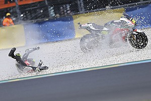 "MotoGP 速報ニュース 予選で転倒のクラッチロー、""重傷""を免れるもレース出場は未定"