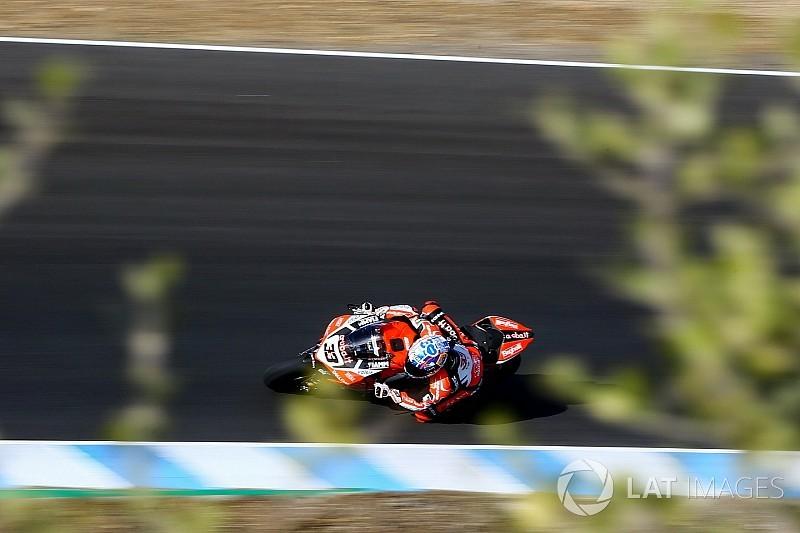 WSBK Jerez: Melandri pakt pole, van der Mark vijfde