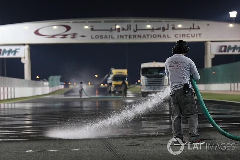Los pilotos de MotoGP dan el visto bueno a correr en Qatar con agua