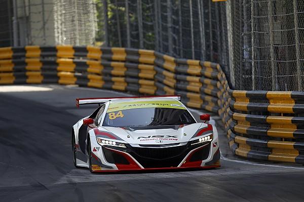 """GT Van der Zande geeft Honda NSX vuurdoop in Macau: """"Een levendig beestje!"""""""