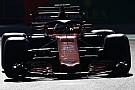 F1 El McLaren MCL33 fue visto antes de su presentación