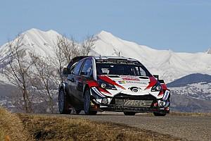 WRC Leg report Monte Carlo WRC: Tanak closes in as Ogier slips up