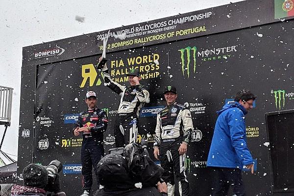 RX Portekiz: Karlı mücadeleyi Kristofersson kazandı!