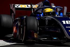 FIA F2 Breaking news Baku F2: Sette Camara tops hectic practice session