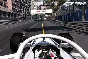 Primeras imágenes del videojuego F1 2018