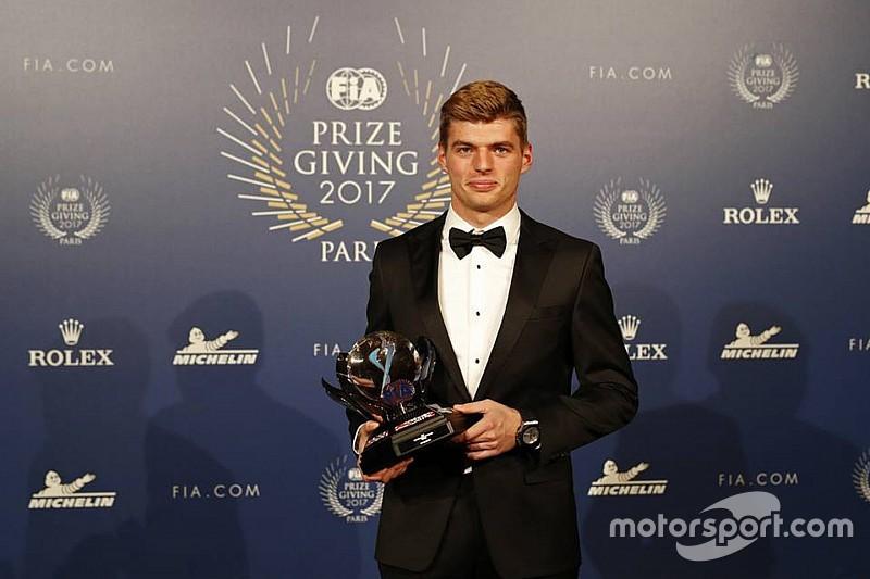 Verstappen fue elegido Personalidad del Año de la FIA por tercera vez consecutiva