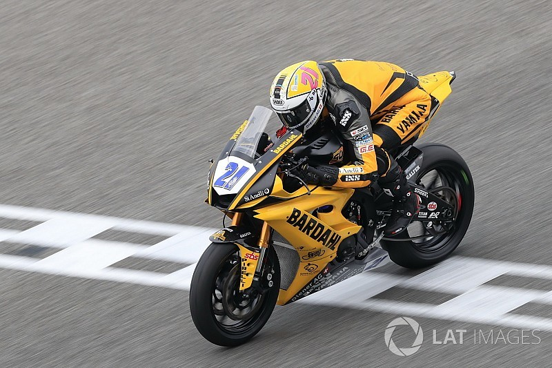 Supersport-WM: Randy Krummenacher gewinnt, Sandro Cortese Vierter