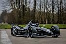 Novo carro da Fórmula E anda pela primeira vez