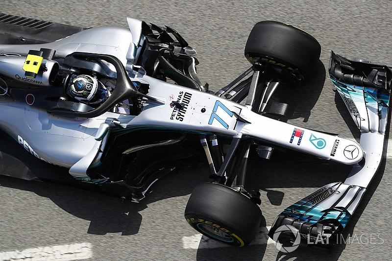 Formel 1 Spanien 2018: Mercedes dominiert erstes Training