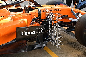Formula 1 Special feature Latest F1 tech updates from Barcelona testing
