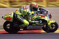26 años en el mundial: todas las motos de Valentino Rossi