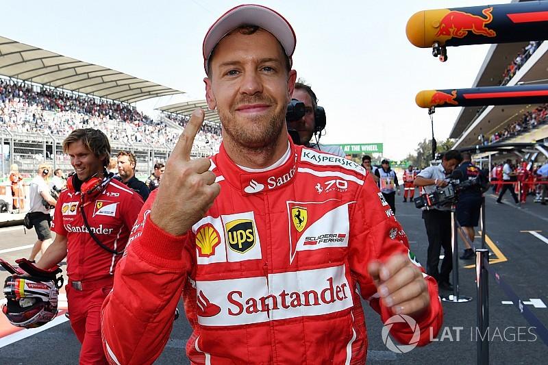 Vettel: Şampiyonluk bana bağlı olmasa da savaşmaya devam edeceğim