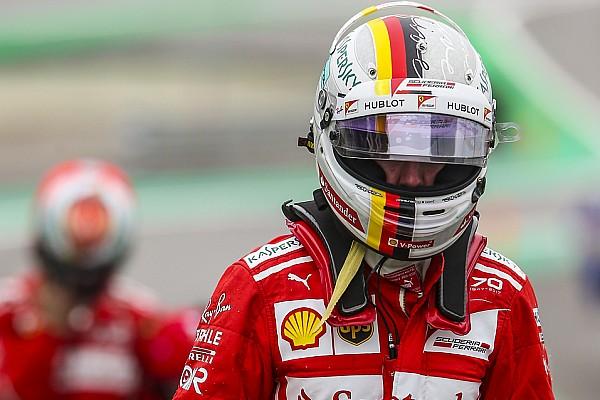 Формула 1 Новость Феттель назвал эпизод с Хэмилтоном в Баку худшим моментом сезона
