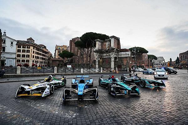 Ciao, Rom! Formel E präsentiert Rennen in der