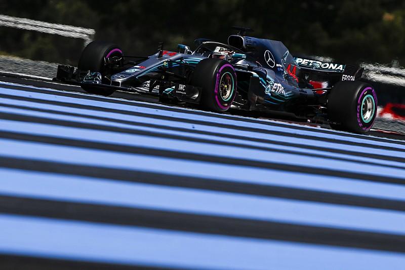 フランスFP2:ハミルトンが初日トップ。ハートレーは終盤にトラブル