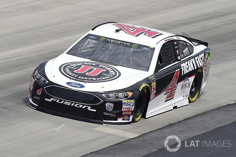 Kevin Harvick takes Stage 1 at Dover as several run out of fuel