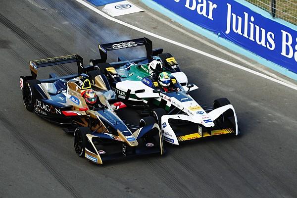 ePrix Punta del Este: Bendung di Grassi, Vergne menang