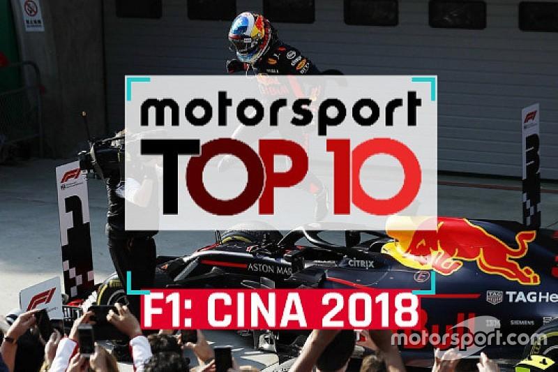 Video: ecco i dieci momenti chiave del GP della Cina di Formula 1