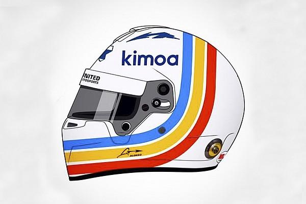 Helm spesial Alonso untuk Daytona 24 Jam