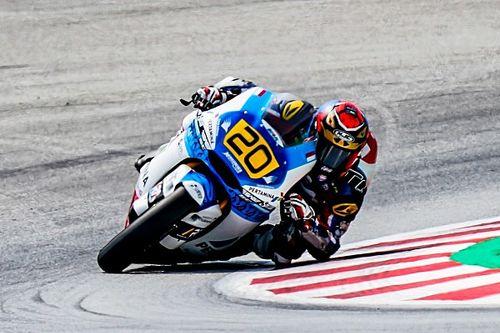 Hasil Race 2 CEV Moto2 Catalunya: Dimas Ekky Bermasalah, Aldeguer Dominan